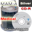 MAM-A (Mitsui)  Medical CD-R 80min 700mb - 43731 - 200 Pack