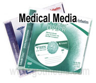 CD-R and DVD-R Medical Media Disc