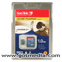 SanDisk 1gb Micro SD Card - SDSDQ-1024-A10