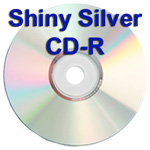Shiny Silver CD-R